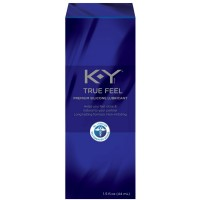 K-Y True Feel Premium Silicone Lube, Long Lasting Personal Lubricant, 1.5 Ounces [067981941838]