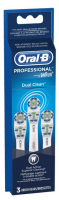 Oral-B Dual Clean Replacement Brushheads 3 ea [069055833025]