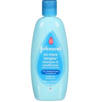 JOHNSON'S No More Tangles Shampoo + Conditioner 13 oz [381370043515]