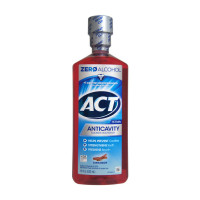 ACT Anticavity Fluoride Rinse Cinnamon 18 oz [041167094082]