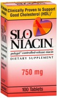 Slo-Niacin 750 mg Tablets 100 Tablets [302450064114]