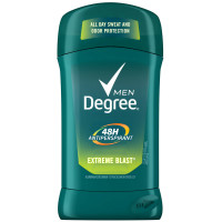Degree Men Anti-Perspirant Deodorant Invisible Stick, Extreme Blast 2.70 oz [079400265609]