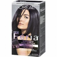 L'Oreal Fria Permanent Haircolour Gel - M32 Midnight Star (Violet Soft Black) (Warmer) 1 Each [071249192504]