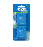 Oral-B Satin Floss Dental Floss Mint 110 Yards, Twin Pack [300410825850]