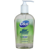 Dial Hand Sanitizer Light Citrus Scent 7.50 oz [017000012193]