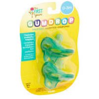 The First Years GumDrop Newborn Pacifier 2 ea [071463047680]