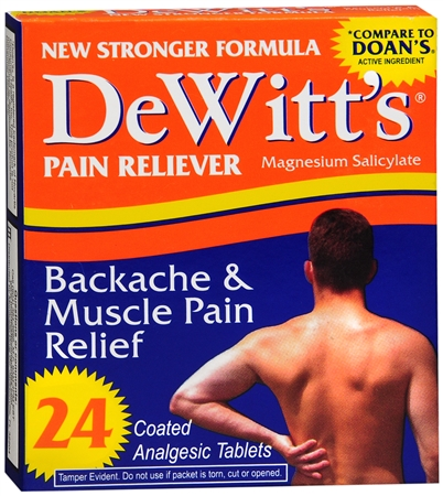 DeWitt's Backache & Muscle Pain Relief 24 Tablets [311868010118]