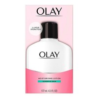 OLAY Moisturizing Lotion Sensitive Skin 6 oz [075609007491]