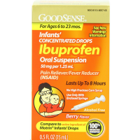 Good Sense Infant's Concentrated Drops Ibuprofen Oral Suspension, Berry Flavor 0.50 oz [370030139170]