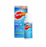 Stopain Extra Strength Roll-On 3 oz [724909633038]
