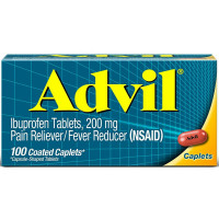 Advil 200 mg Coated Caplets 100 ea [305730160407]