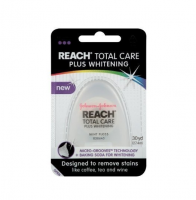REACH Total Care Plus Whitening Mint Dental Floss 30 Yards [381371091287]