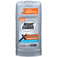 Right Guard Xtreme Defense 5 Arctic Refresh Antiperspirant 2.6 oz [017000068152]