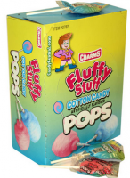 Charms  Fluffy Stuff Cotton Candy Pops 48 ct [014200337828]
