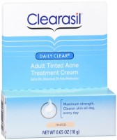 Clearasil Adult Tinted Treatment Cream 0.65 oz [839977008012]