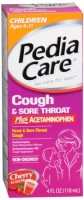PediaCare Children's Plus Cough & Sore Throat Liquid Cherry 4 oz [814832011079]
