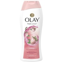 OLAY Fresh Outlast Body Wash, Cooling White Strawberry & Mint 22 oz [037000974680]