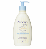 AVEENO Baby Daily Moisture Lotion Fragrance Free 12 oz [381370042297]