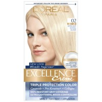 L'Oreal Excellence Creme Blonde Supreme - 02 Extra Light Natural Blonde (Natural) 1 Each [071249210826]