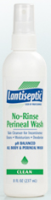 Lantiseptic No-Rinse Perineal Wash 8 oz [312090001738]
