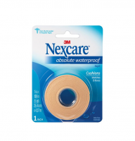 Nexcare Absolute Waterproof Tape 1 Inch X 5 Yards, 1ea [051131667754]