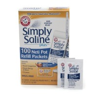 Simply Saline Plus Neti Pot Refill Packets 100 ea [022600085560]