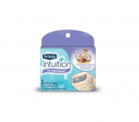 Schick Intuition Pure Nourishment with Coconut Milk & Almond Oil Razor Refills 3 ea [841058040873]