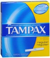 Tampax Tampons Regular 20 Each [073010280106]