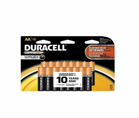 Duracell Coppertop AA Alkaline Batteries 16 ea [041333704647]