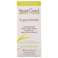 YEAST-GARD Advanced Homeopathic Suppositories 10 ea [012277662010]