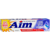 Aim Toothpaste Gel Tartar Control, Cool Mint 5.5 oz [033200253815]