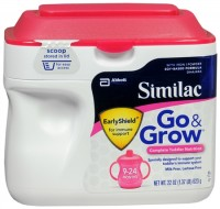 Similac Go & Grow Powder Soy Based With Iron 22 oz [070074508382]
