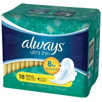 Always Ultra Thin Pads Regular Flexi-Wings 18 ea [037000306559]