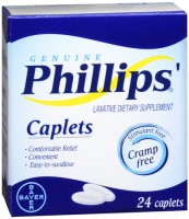 Phillips' Laxative Caplets 24 Caplets [312843516731]