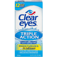 Clear Eyes Triple Action Relief Eye Drops 0.50 oz [678112254330]