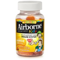 Airborne Kids Gummies Vitamin 667mg Immune Support Supplement, Assorted Fruit Flavors, 21 ct [647865185758]