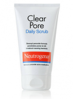 Neutrogena Clear Pore Daily Scrub 4.20 oz [070501060421]