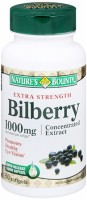Nature's Bounty Bilberry Extract 1000 mg Equivalent Softgels 60 Softgels [074312014185]