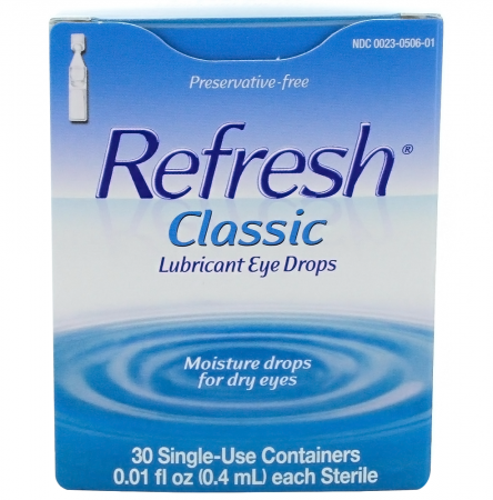 REFRESH Classic Lubricant Eye Drops Single-Use Containers 30 Each [300230506014]
