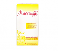 Massengill Extra Cleansing Disposable Douche, Vinegar and Water, 4 ea, 4.5oz [042037105617]