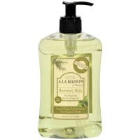 A LA MAISON French Liquid Soap, Rosemary Mint 16.90 oz [182741000317]