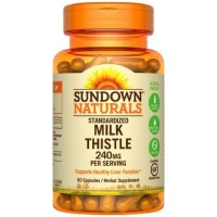 Sundown Milk Thistle XTRA 60 Capsules ea [030768003487]