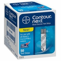 CONTOUR Next Blood Glucose Test Strips 50 Each [301937311505]