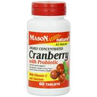 Mason Natural Highly Concentrated Cranberry with Probiotic Tablets 60 ea [311845163356]
