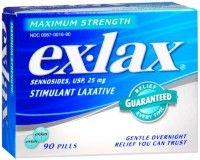 Ex-Lax Maximum Strength Stimulant Laxative Pills 90 ea [300670016906]