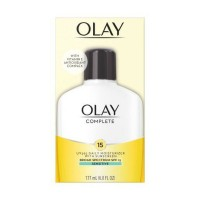 OLAY Complete UV Daily Moisturizer SPF 15, Sensitive Skin 6 oz [075609000980]