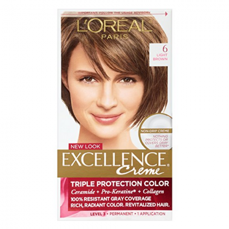 L'Oreal Excellence Creme, Light Brown [6] 1 Each [071249210598]