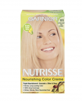 Garnier Nutrisse Haircolor, 111 Extra-Light Ash Blonde 1 Each [603084244751]