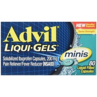 Advil  Liqui-Gels Minis Pain Reliever 80 ea [305731769807]
