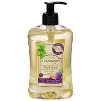 A LA MAISON Fig & Basil Liquid Soap  16.9 oz [817252011308]